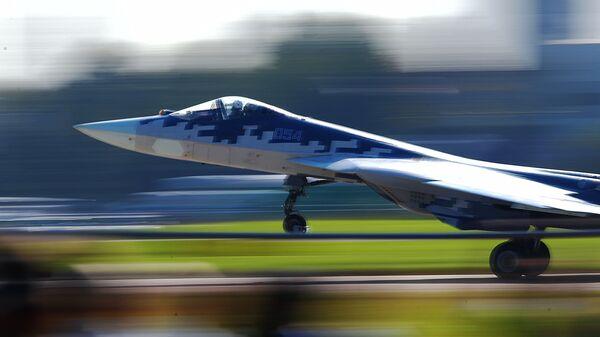 Caza ruso Su-57 - Sputnik Mundo