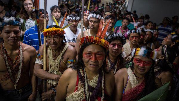 Indígenas Waorani de Ecuador - Sputnik Mundo