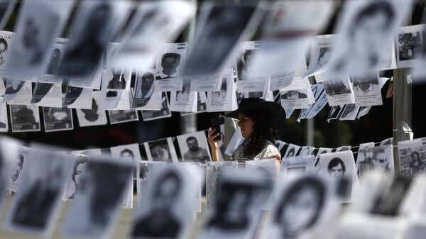 Fotos de desaparecidos en México (imagen referencial) - Sputnik Mundo