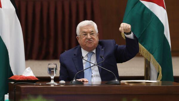 Mahmud Abás, presidente de la Autoridad Nacional Palestina - Sputnik Mundo