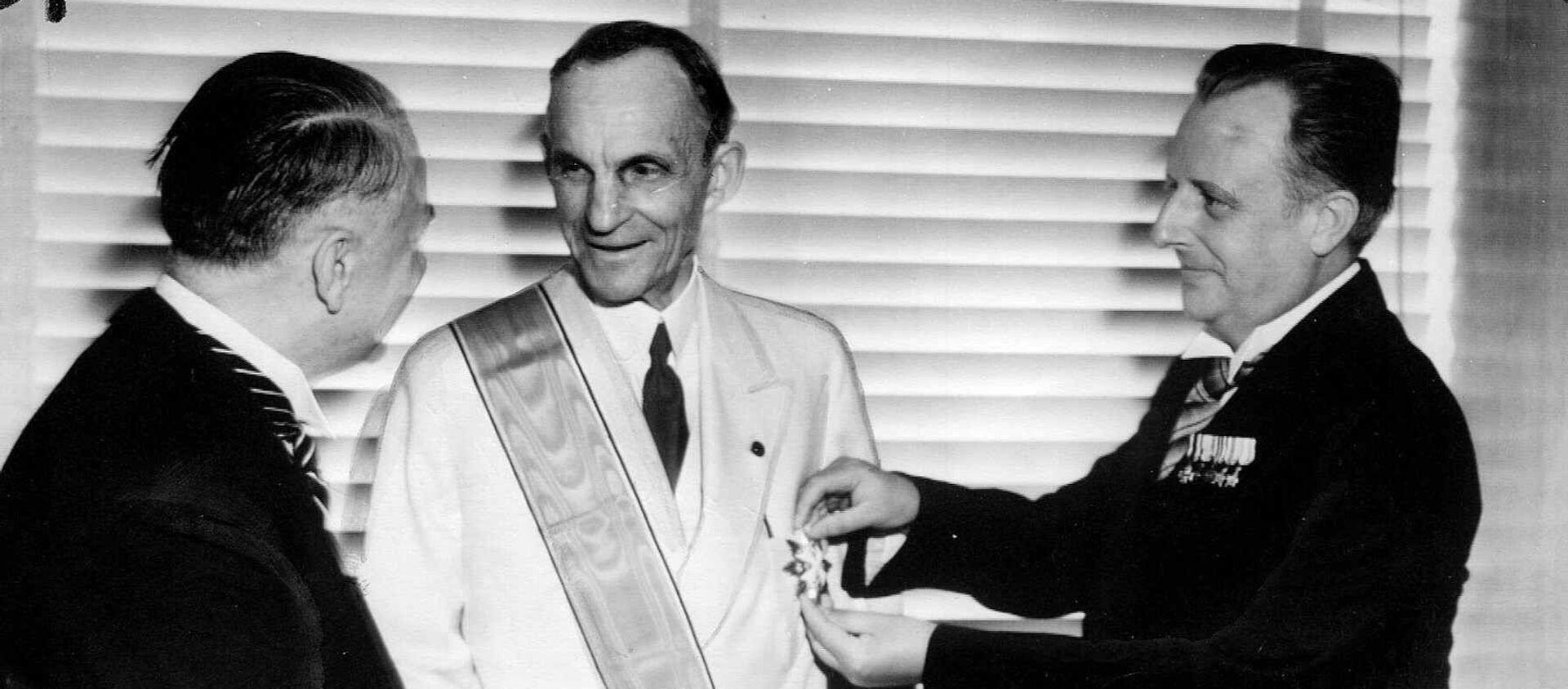 Henry Ford recibe la Gran Cruz del Águila Alemana - Sputnik Mundo, 1920, 21.05.2020