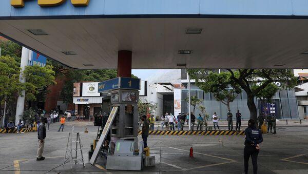 Estación de combustibles en Caracas - Sputnik Mundo