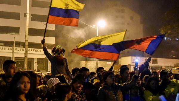 Protestas en Quito, Ecuador (archivo) - Sputnik Mundo