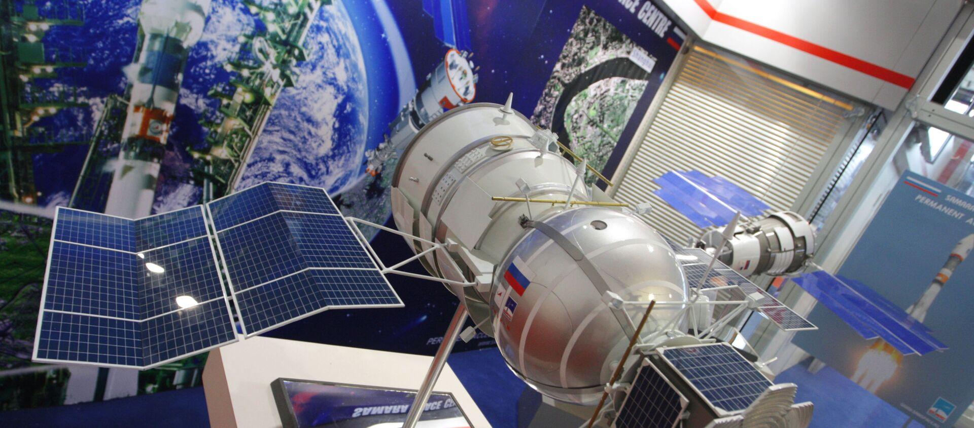 Un modelo del biosatélite ruso Bion-M - Sputnik Mundo, 1920, 10.02.2021