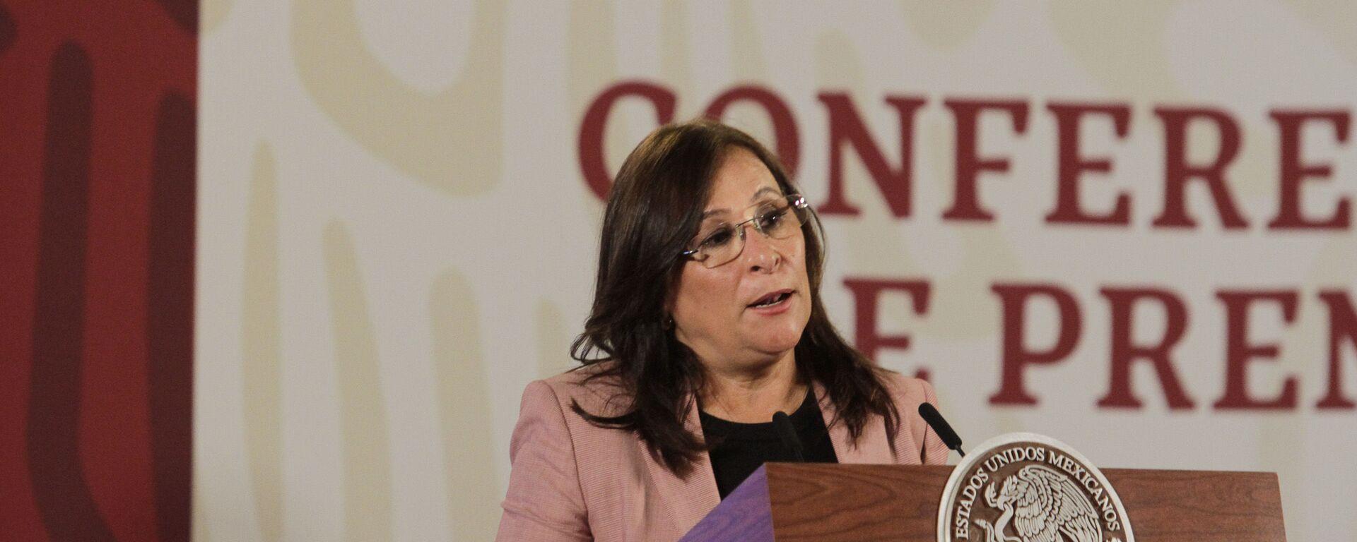 La secretaria de Energía de México, Norma Rocío Nahle García - Sputnik Mundo, 1920, 04.02.2021