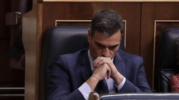 Pedro Sánchez en el Congreso de los Diputados - Sputnik Mundo
