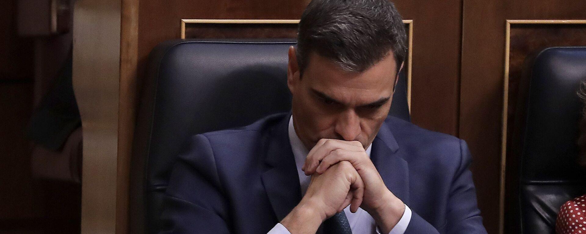 Pedro Sánchez en el Congreso de los Diputados - Sputnik Mundo, 1920, 09.09.2020