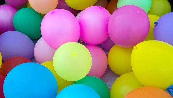 Globos. Fiesta. Imagen referencial - Sputnik Mundo