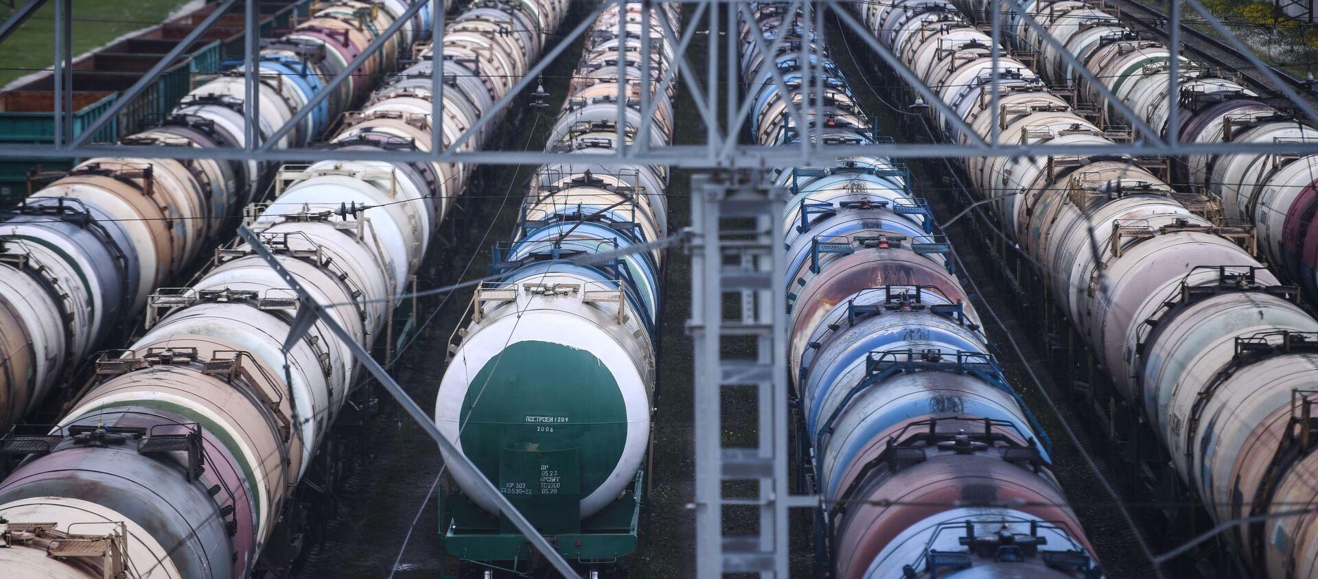 Cisternas para transportación de petróleo - Sputnik Mundo, 1920, 27.05.2020