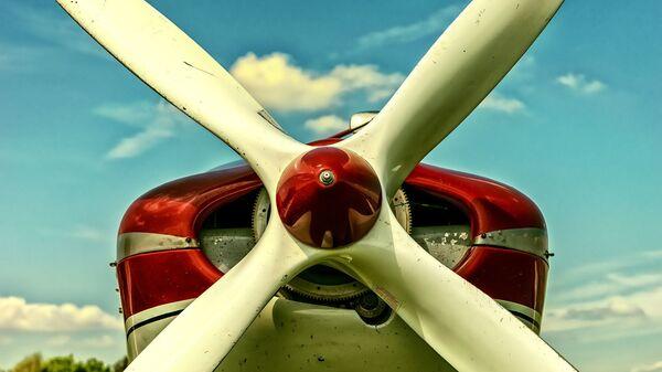 Las hélices de un avión (imagen referencial) - Sputnik Mundo