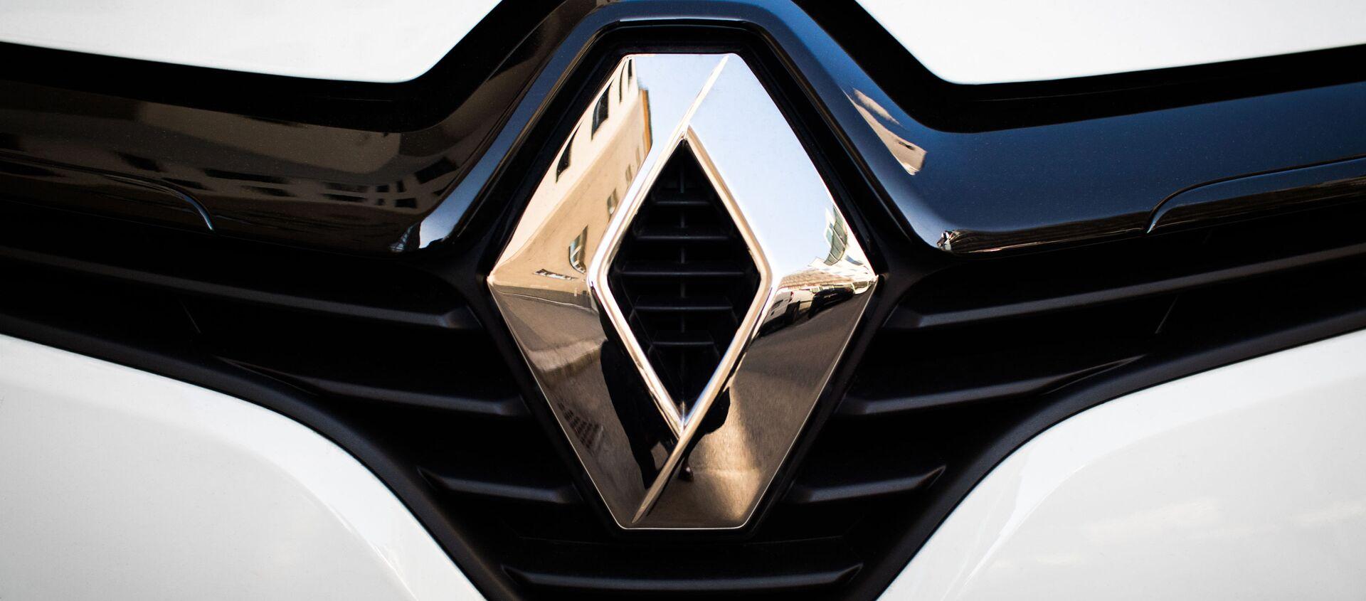 Logo Renault - Sputnik Mundo, 1920, 26.10.2020
