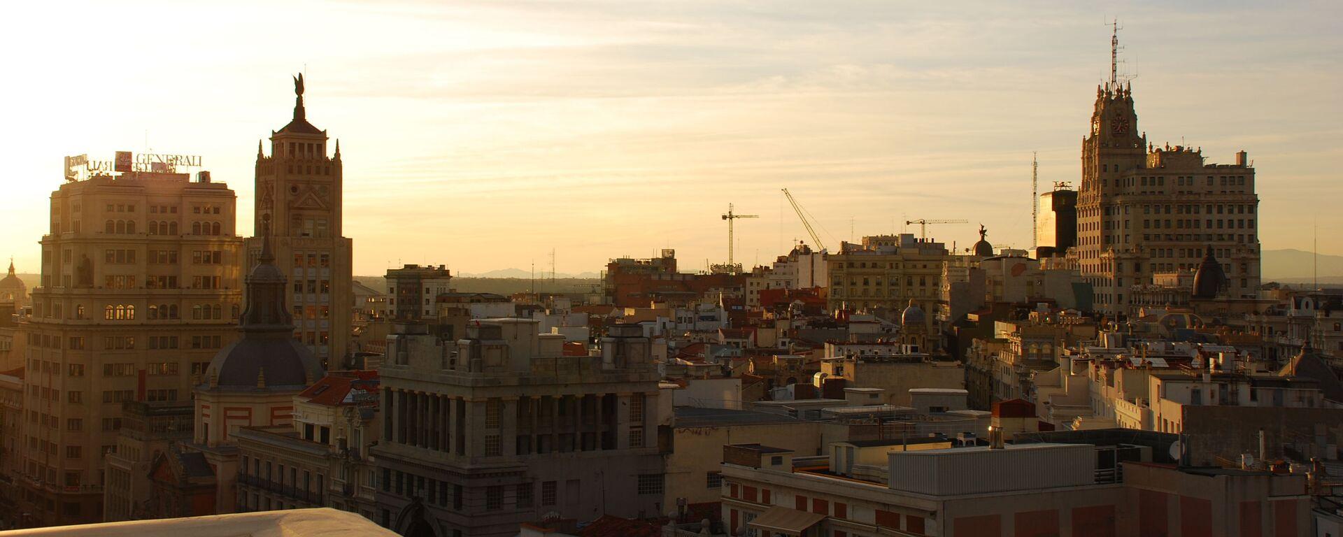 Vista del centro de Madrid (imagen referencial) - Sputnik Mundo, 1920, 08.09.2021