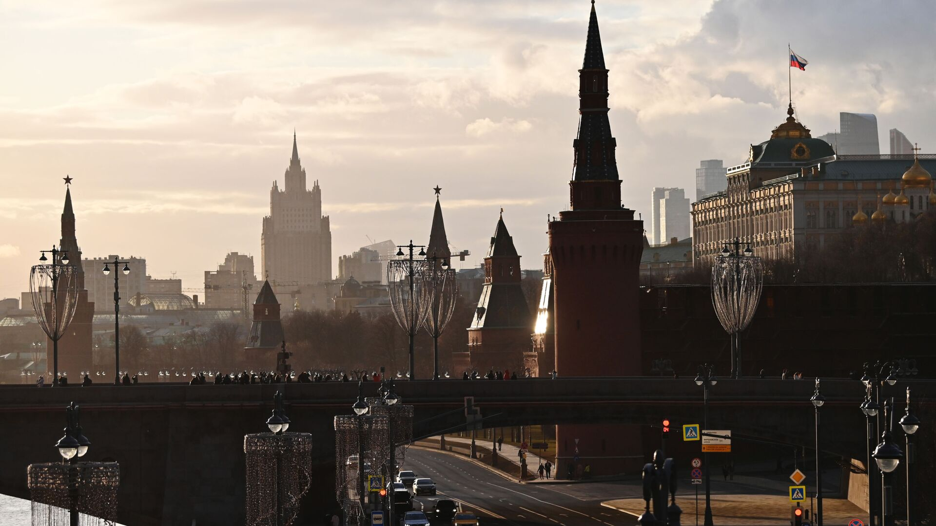 El Kremlin y el Ministerio de Exteriores de Rusia en Moscú - Sputnik Mundo, 1920, 25.03.2021