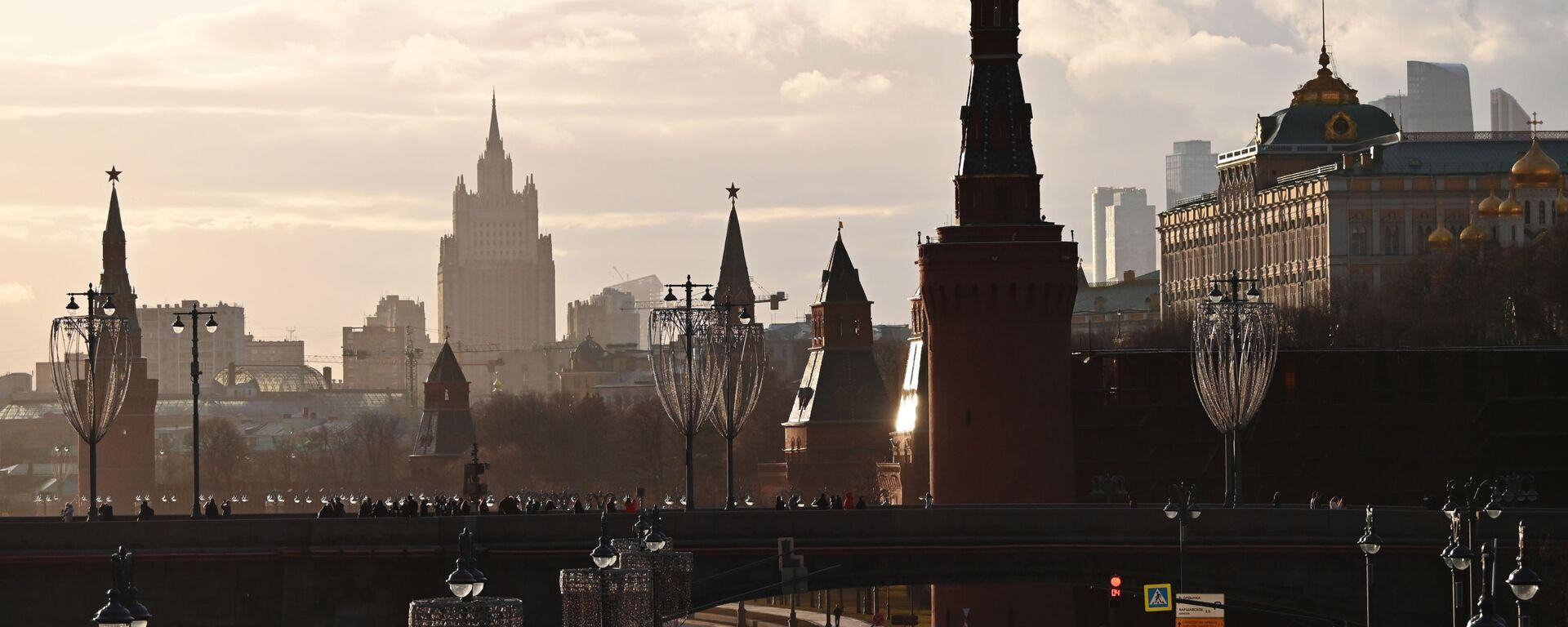 El Kremlin y el Ministerio de Exteriores de Rusia en Moscú - Sputnik Mundo, 1920, 03.03.2021