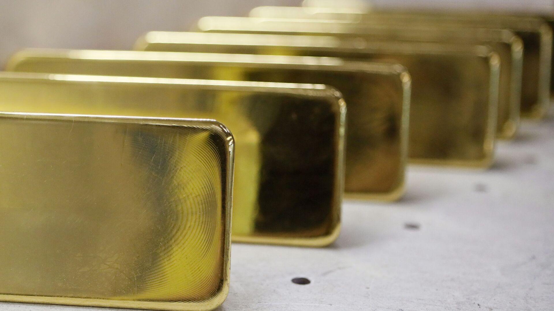 Lingotes de oro - Sputnik Mundo, 1920, 17.02.2021