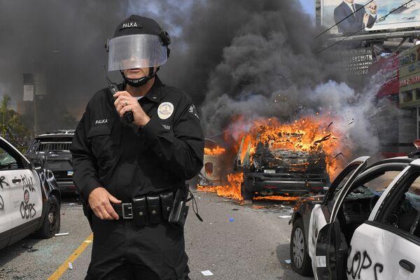 Las protestas que azotan EEUU, en imágenes   - Sputnik Mundo