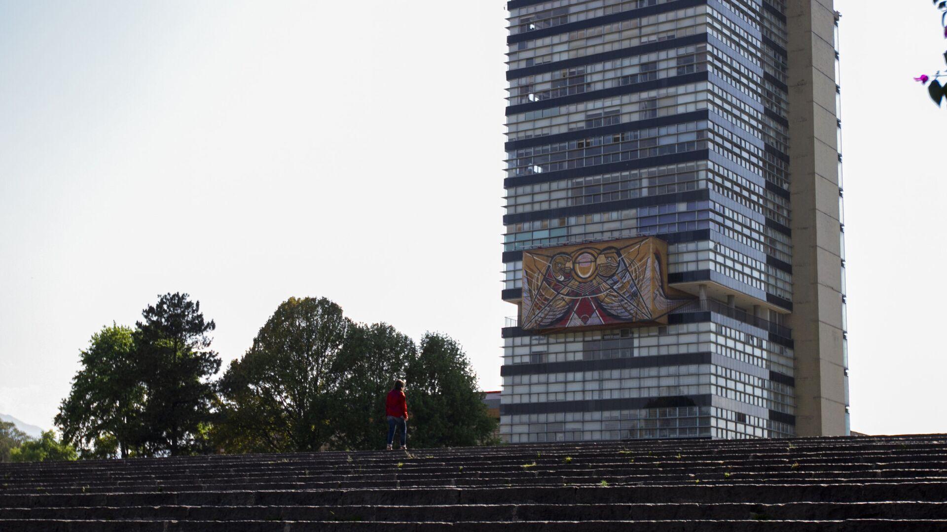 El edificio de la Universidad Nacional Autónoma de México (UNAM) - Sputnik Mundo, 1920, 30.03.2021