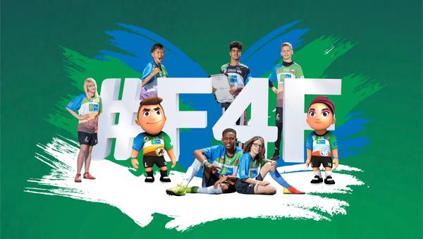 Logo del Campeonato Mundial F4F (Fútbol por la Amistad) - Sputnik Mundo