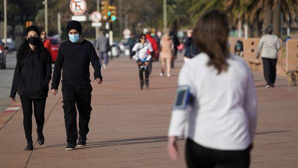 Coronavirus en Montevideo, Uruguay - Sputnik Mundo