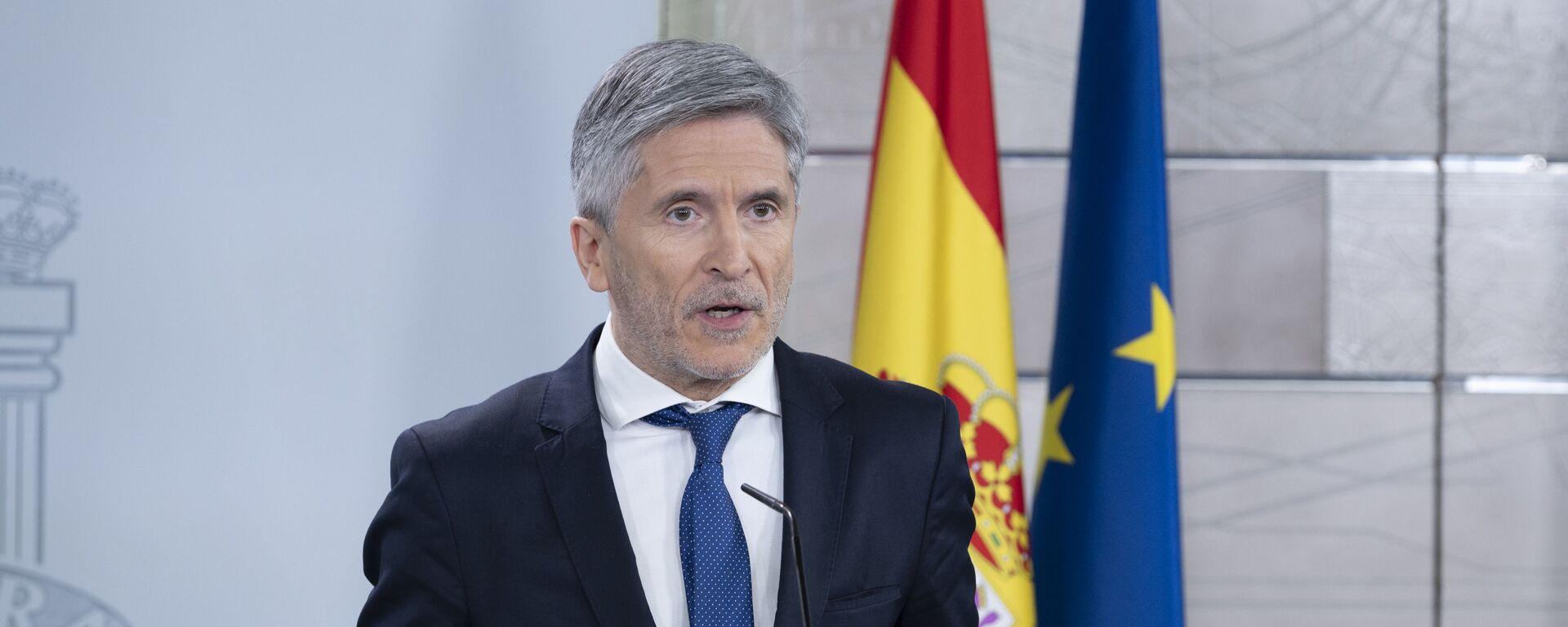 Fernando Grande-Marlaska, ministro de Interior español - Sputnik Mundo, 1920, 12.03.2021