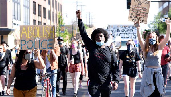Protestas en Chicago - Sputnik Mundo