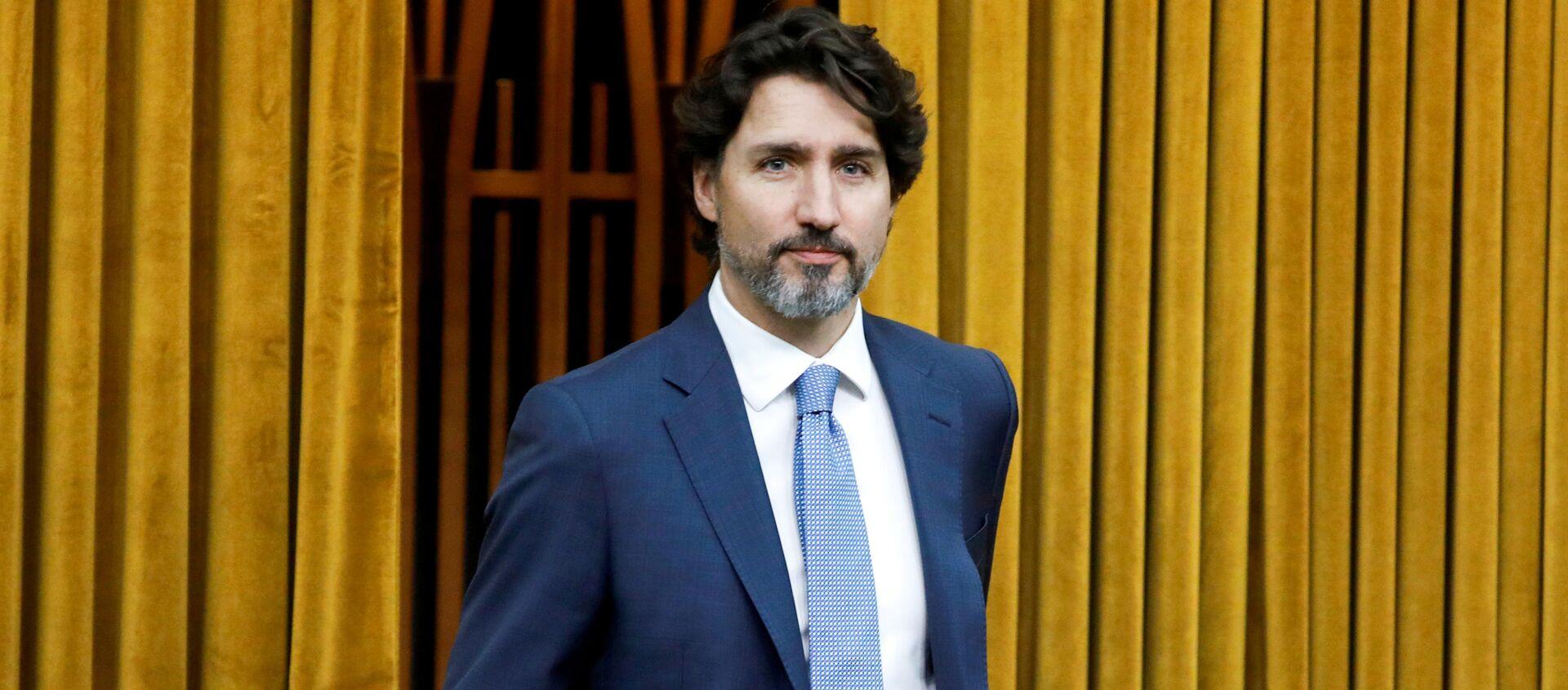 Justin Trudeau, primer ministro de Canadá - Sputnik Mundo, 1920, 19.06.2020