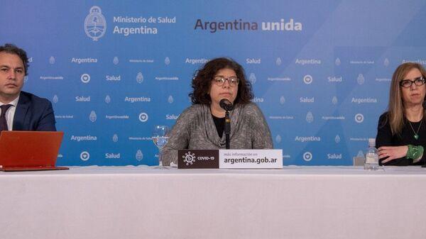 Carla Vizzotti, secretaria de Acceso a la Salud del Ministerio de Salud de Argentina - Sputnik Mundo