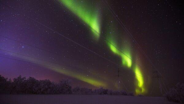 Aurora boreal en Rusia  - Sputnik Mundo