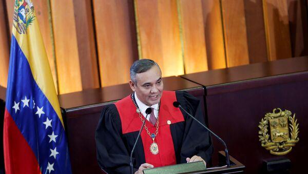 Maikel Moreno, presidente del Tribunal Supremo de Justicia (TSJ) de Venezuela - Sputnik Mundo