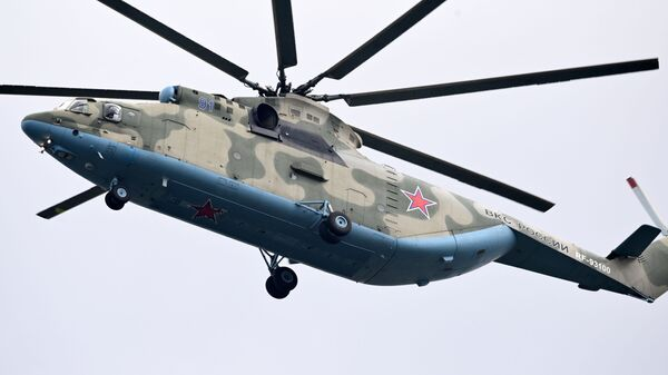 Más tarde el Mi-6 fue desplazado por el helicóptero más novedoso, pero no menos habilitado, Mi-26. - Sputnik Mundo