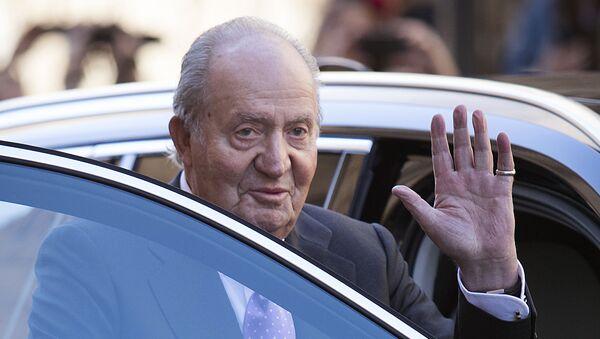 El rey emérito Juan Carlos I de España - Sputnik Mundo