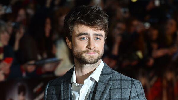 El actor británico Daniel Radcliffe - Sputnik Mundo
