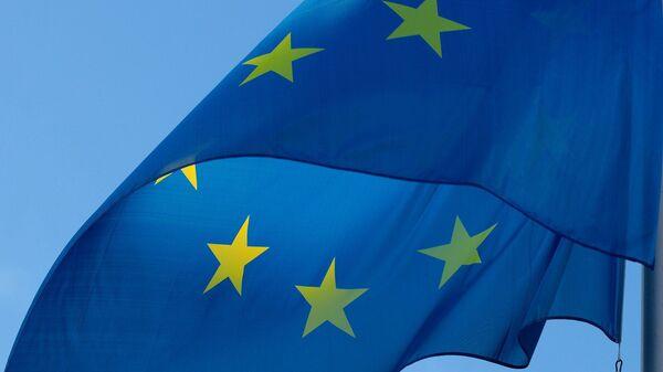 Bandera de la UE (imagen referencial) - Sputnik Mundo