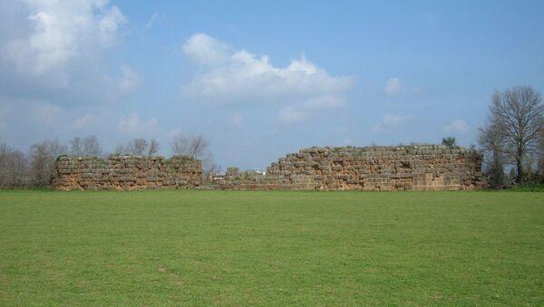 Los restos del muro de Falerii Novi, la antigua ciudad romana - Sputnik Mundo