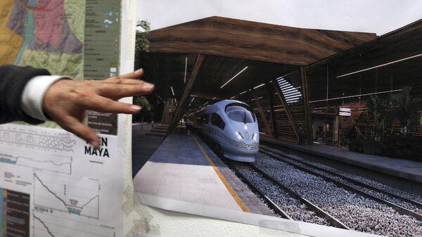 El plan de construcciones del Tren Maya - Sputnik Mundo