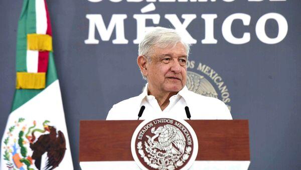 El presidente mexicano, Andrés Manuel Lopez Obrador - Sputnik Mundo