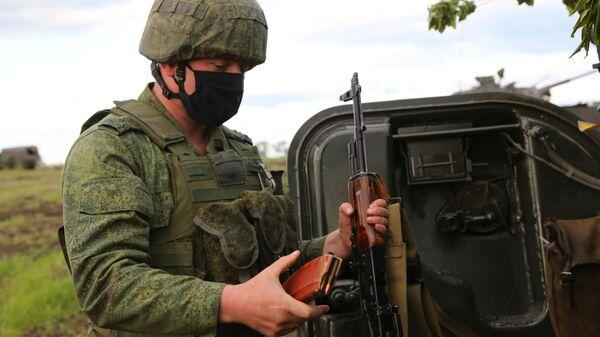 Situación en la zona del conflicto en Donbás (archivo) - Sputnik Mundo