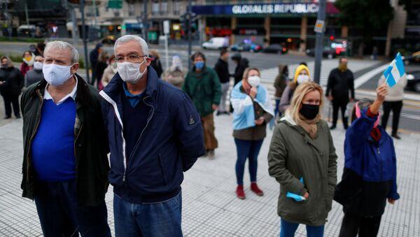 Coronavirus en Argentina - Sputnik Mundo