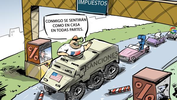 EEUU aplicaría medidas de represalia contra Europa y Asia  - Sputnik Mundo