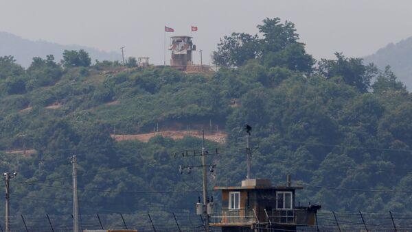 La frontera entre las dos Coreas - Sputnik Mundo
