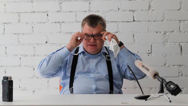 Víctor Babariko, aspirante a la presidencia de Bielorrusia - Sputnik Mundo