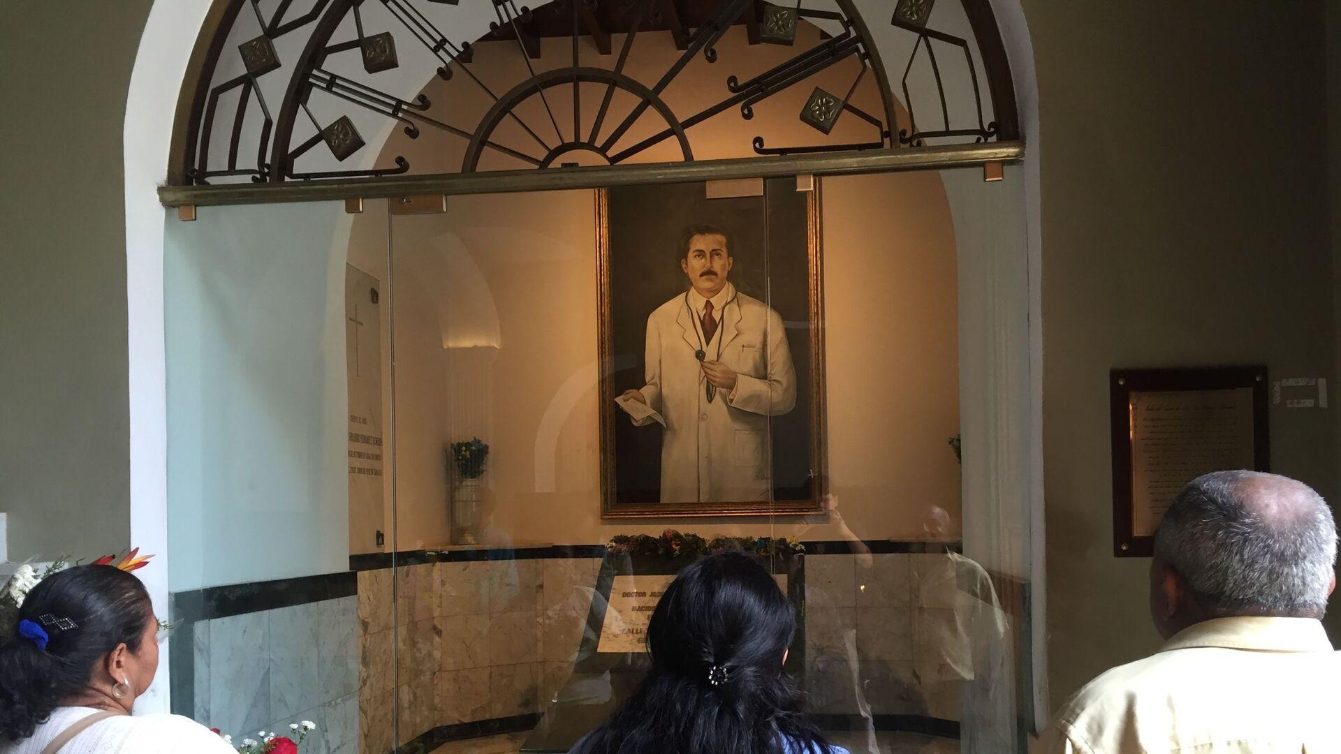 Tumba de José Gregorio Hernández en la Iglesia de Nuestra Señora de la Candelaria - Sputnik Mundo, 1920, 24.03.2021