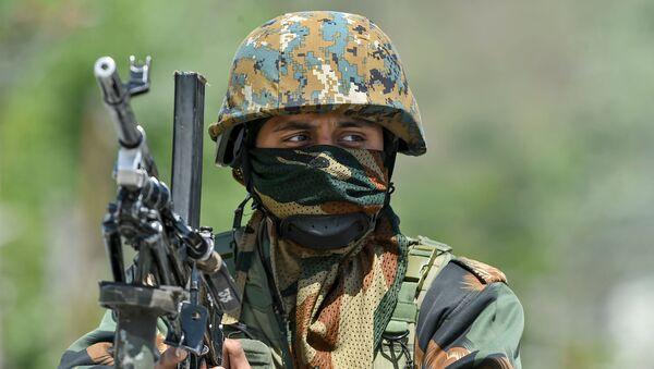 Soldado indio (imagen referencial) - Sputnik Mundo