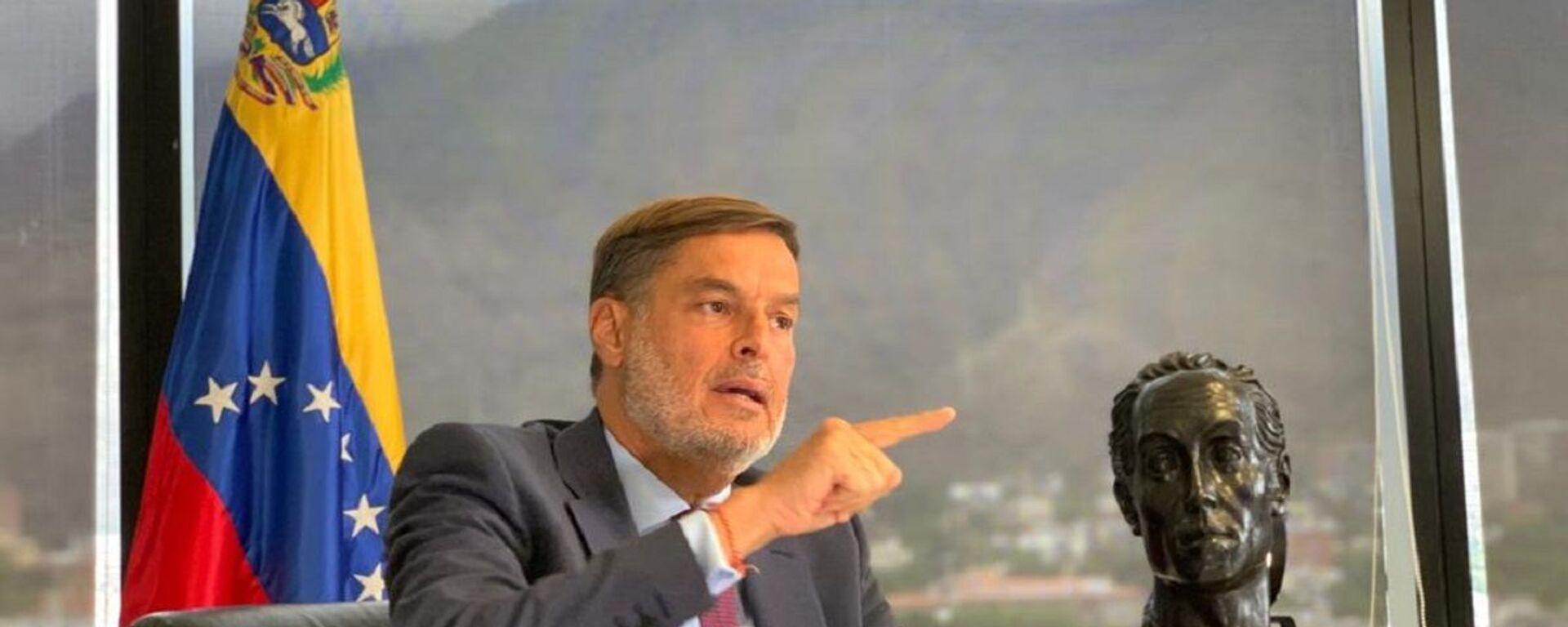 Félix Plasencia, el ministro del Poder Popular para el Turismo y Comercio Exterior de Venezuela - Sputnik Mundo, 1920, 19.08.2021