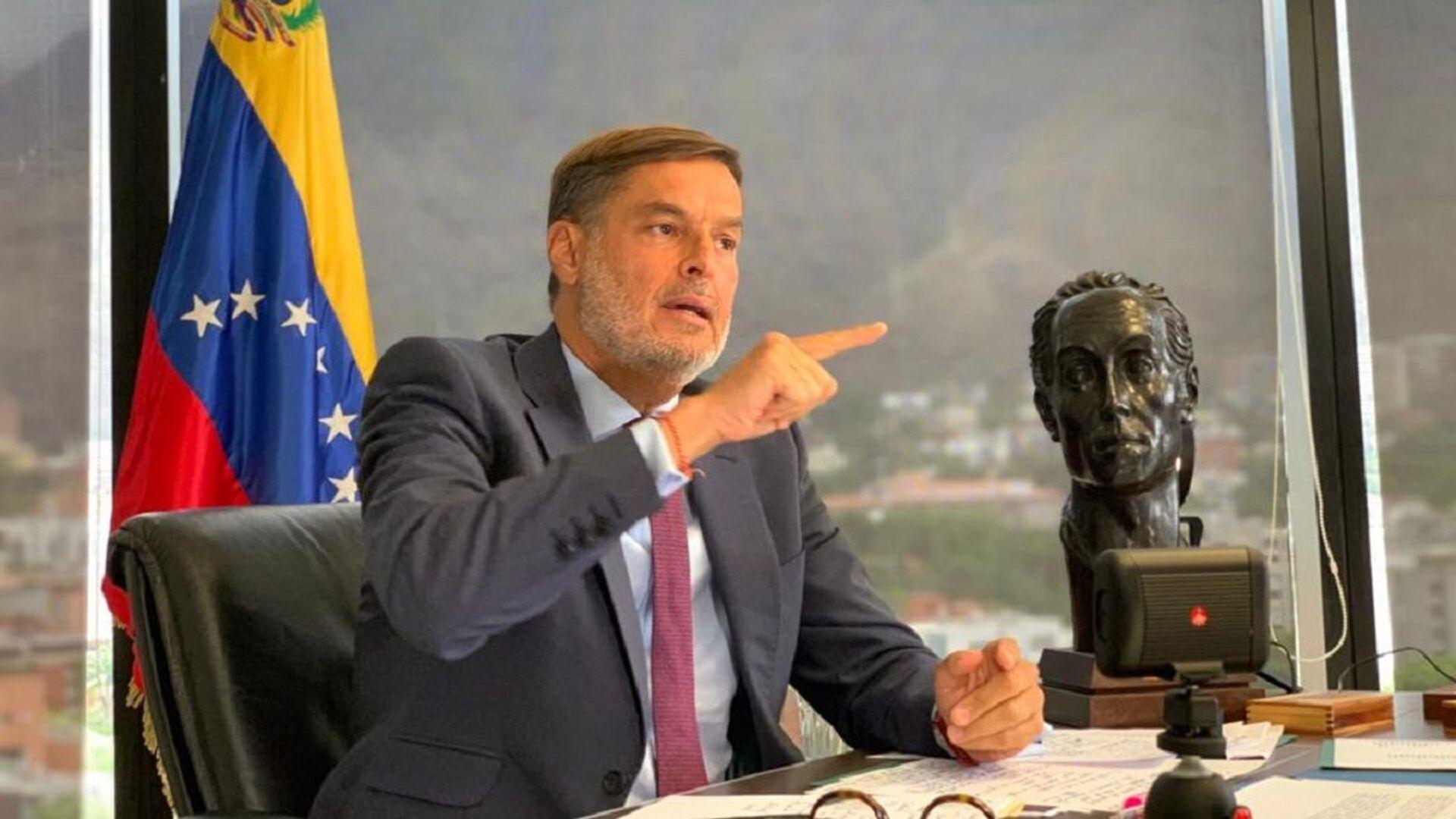 Félix Plasencia, el ministro del Poder Popular para el Turismo y Comercio Exterior de Venezuela - Sputnik Mundo, 1920, 20.09.2021