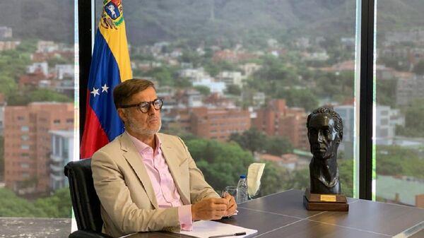 Félix Plasencia, canciller de Venezuela (archivo) - Sputnik Mundo