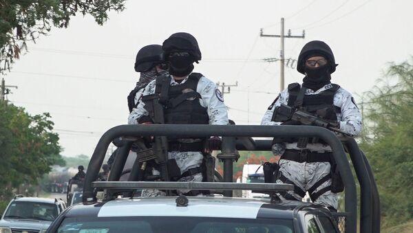 La Guardia Nacional de México en San Mateo del Mar - Sputnik Mundo