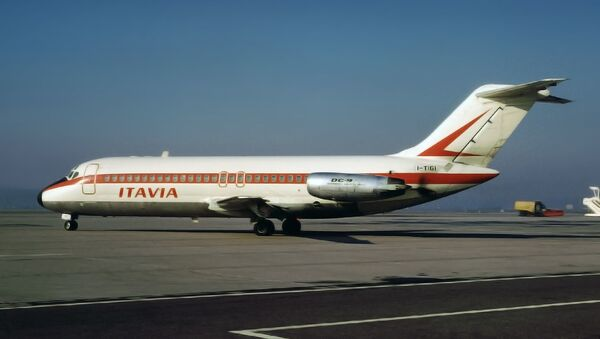 El avión DC-9 de la aerolínea Itavia  - Sputnik Mundo