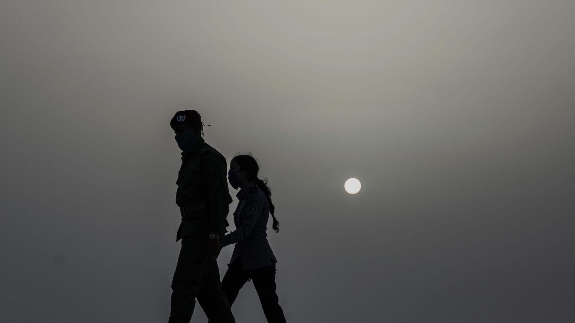 Nubes de polvo provenientes del Sahara en Cuba (archivo) - Sputnik Mundo, 1920, 04.10.2021