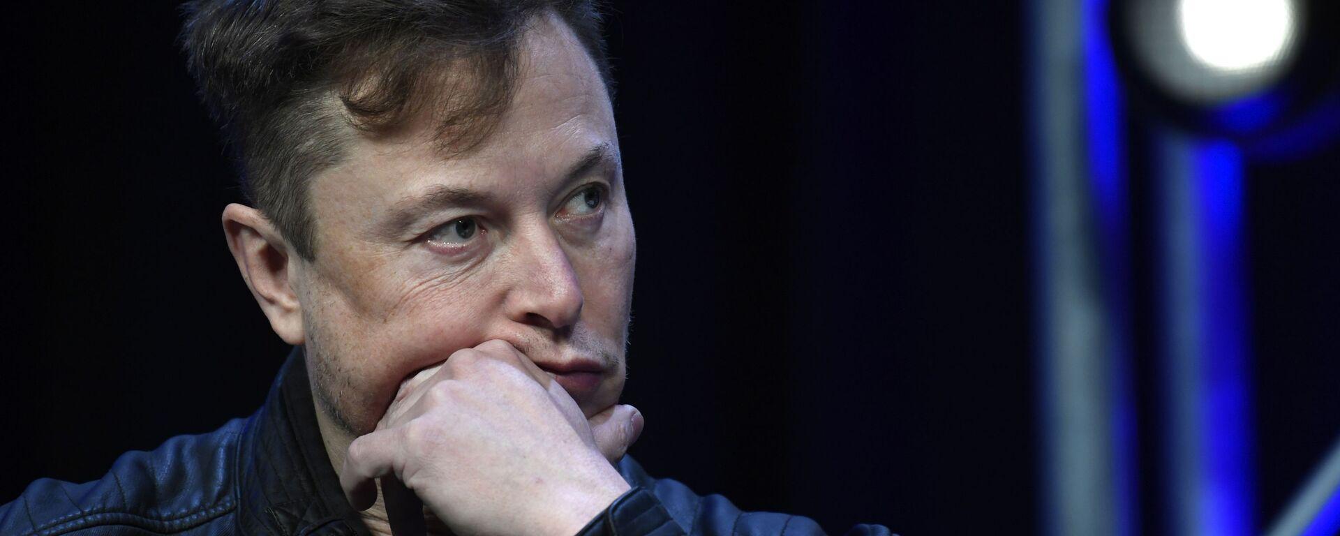 Elon Musk, fundador de Tesla - Sputnik Mundo, 1920, 29.06.2020
